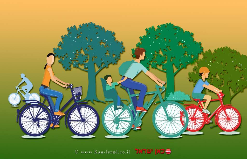 """קק""""ל: תקיים ביום שישי, טקס השקת שבילי אופניים משפחתיים ביער בארי, ליד קיבוץ בארי   עיבוד צילום: שולי סונגו ©"""